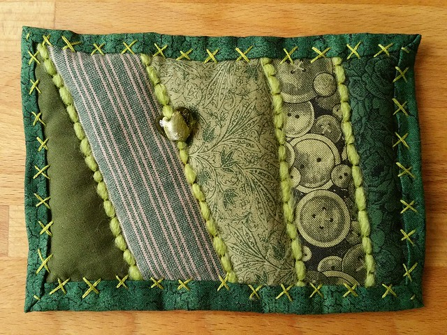 Green patch for Paula