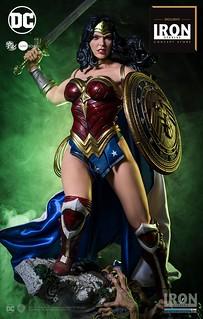 無懈可擊的完美女力!!Iron Studios Prime Scale 系列【神力女超人】Wonder Woman 1/3 比例全身雕像作品