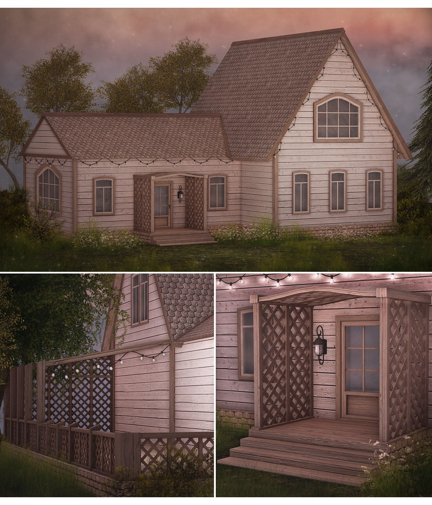 Avenden cottage for Builder's Box (August) - SecondLifeHub.com