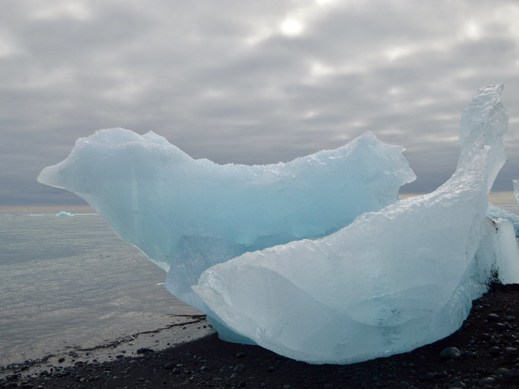 Ice at Jokulsarlon