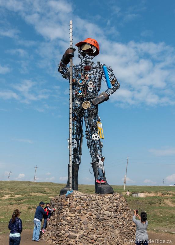 Ulaanbaatar to Russia Border