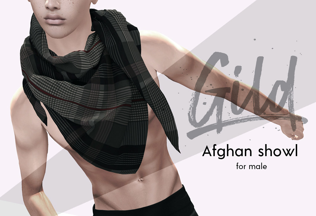Afghan shawl @ Gild - SecondLifeHub.com