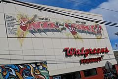 Niners Mural, San Francisco, CA