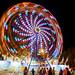 Expo Wheel at Night 2 @ 2016 Chesterfield County Fair - Chesterfield, VA