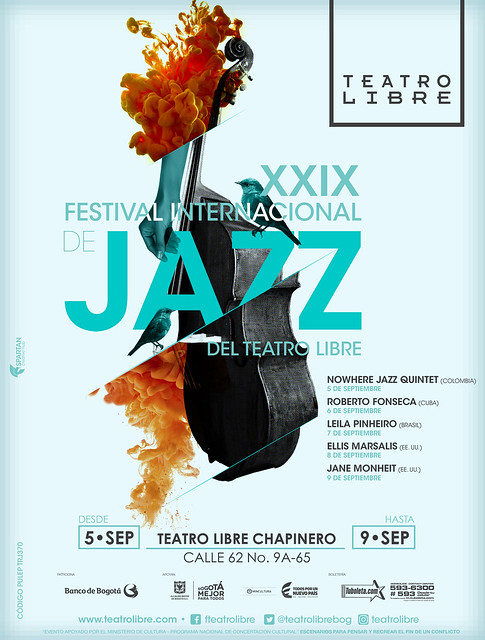 Imagen OFICIAL XXIX Festival Internacional de Jazz del Teatro Libre