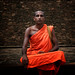 An Indian Monk Meditates, Bodhgaya