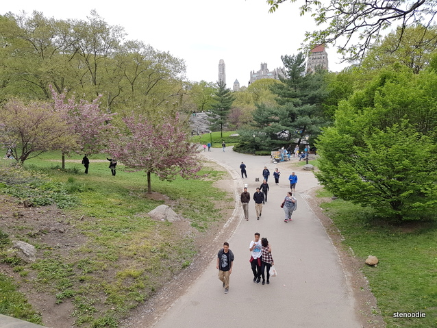 Central Park pathways