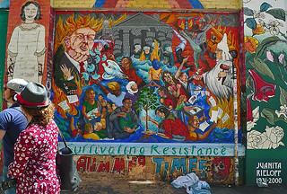 Mural in the City - Clarion Alley Cultivating Resistance