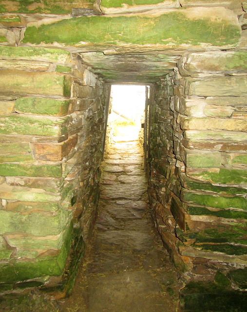 Entrance/Exit, Unstan Chambered Burial Cairn, Orkney