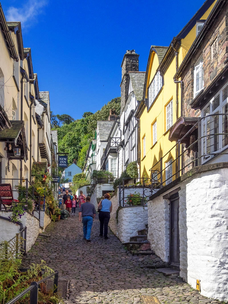 Clovelly Main Street, Devon. Credit Bob Radlinski, flickr