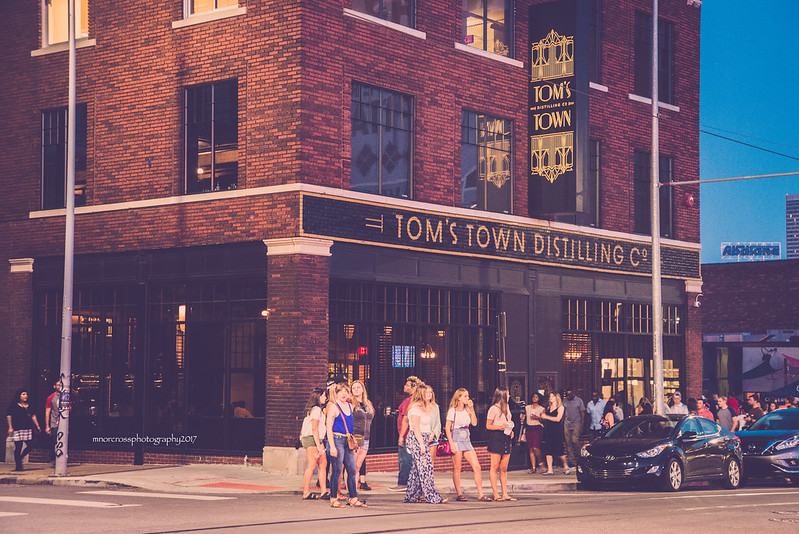 First Friday at Tom's Town