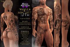 -Nivaro- 'SkullsN'Mischief' Tattoo Advert