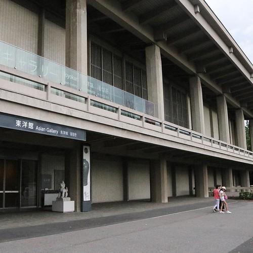 閉館時間間際の東洋館に滑り込み。 #東京国立博物館