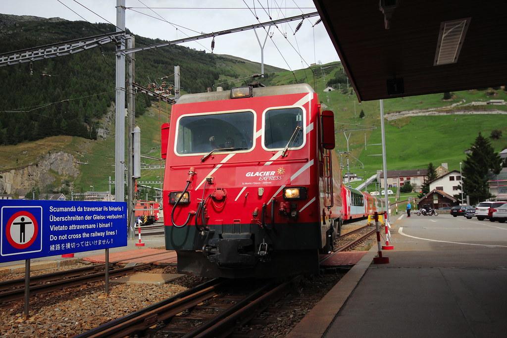 スイス滞在時に見た鉄道車両:私鉄編 - もつの雑記帳-日常ときどき探訪記-