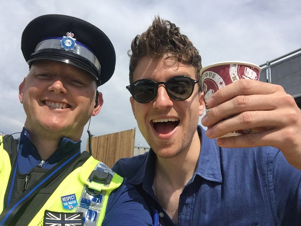 Humberside Police at BBC Radio 1's Big Weekend. Photo: © Humberside Police