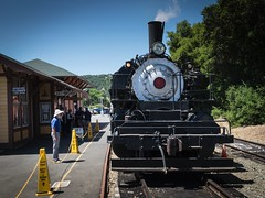 Quincy No. 2 at the Sunol Station