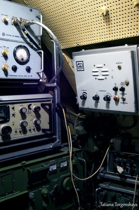 Внутри радиорубки