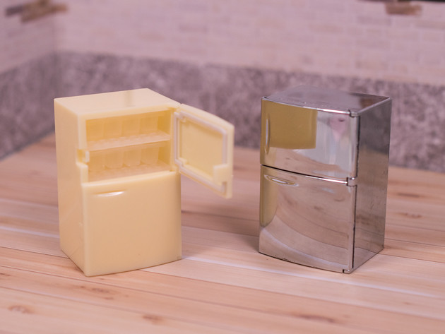 ちょこっとレビュー Jドリーム ザ・ミニチュア 冷蔵庫コレクション