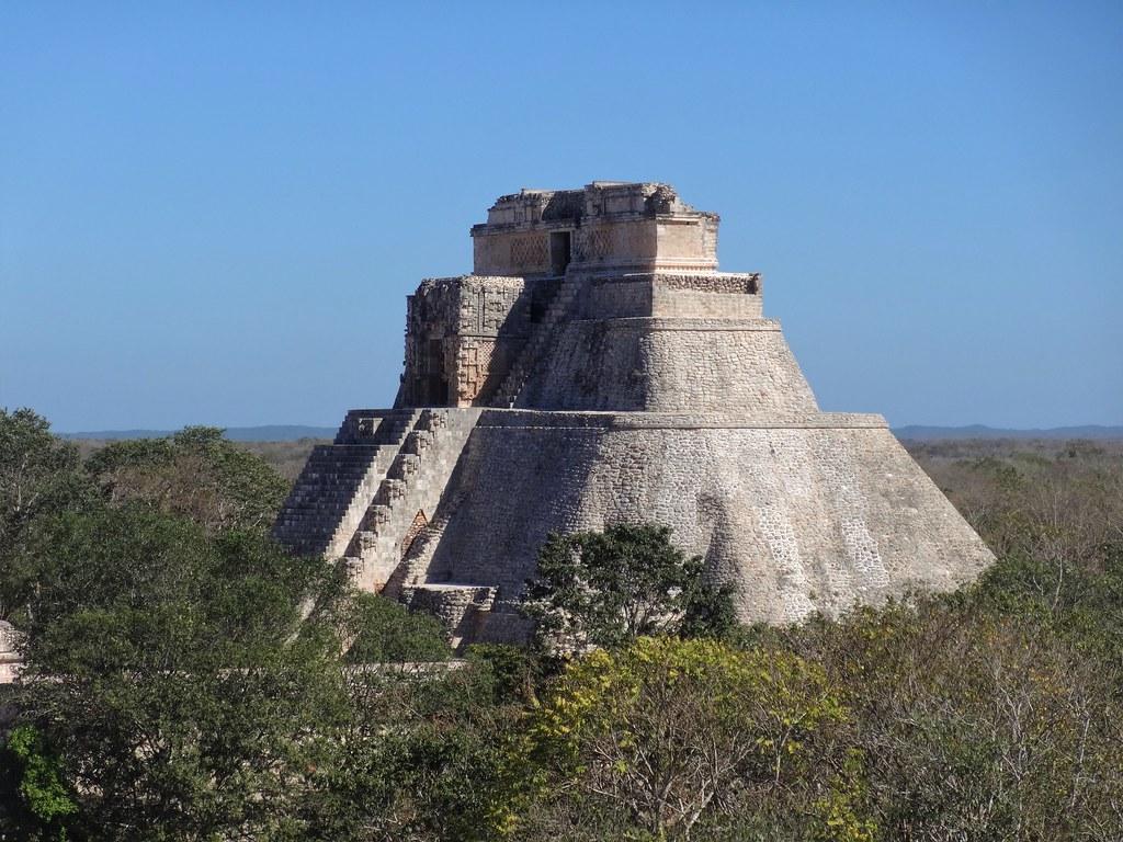 Piramida Wróża Uxmal, Meksyk