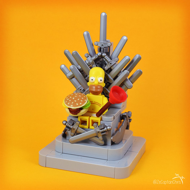 Ze Throne of Homer (The Simpsons)