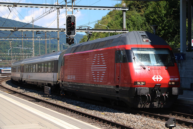 Re460 027 SBB-CFF-FFS. Olten, August 14. 2017, Canon EOS 750D, Canon EF-S18-135mm f/3.5-5.6 IS STM