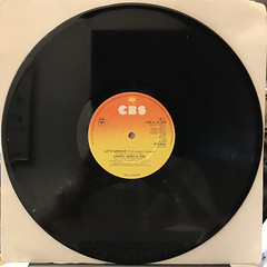 EARTH,WIND & FIRE:LET'S GROOVE(RECORD SIDE-A)