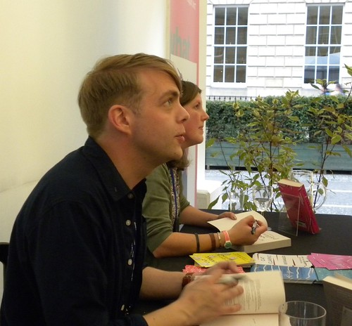Christoffer Carlsson and Cat Clarke