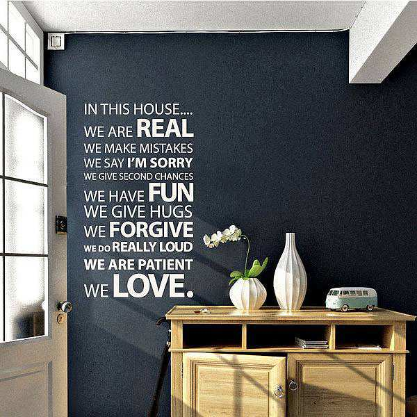 Custom Wall Decals Quotes In Ireland