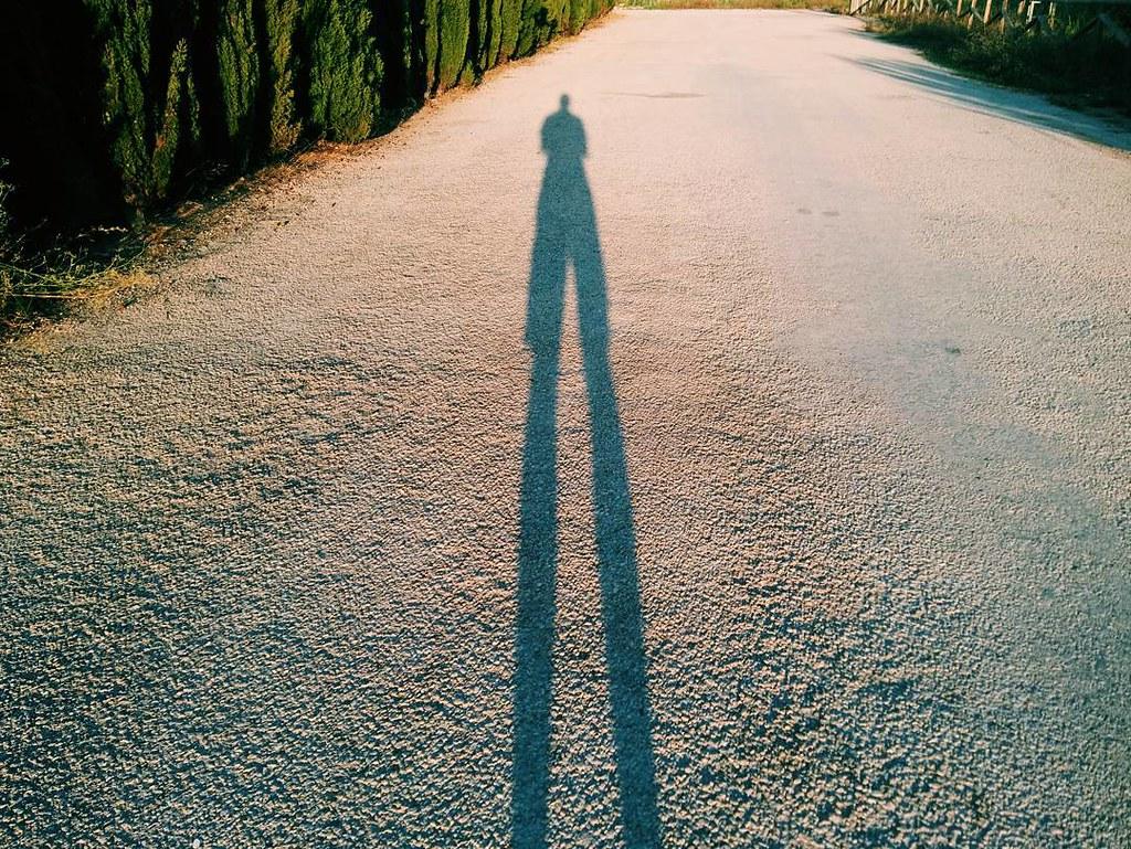 Sombras gigantes de agosto. #photography #phonephoto #shadow #summer2017 #summersunset #vsco #vscocam