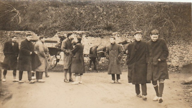 At Bohernabreena, March 1923. J.D.Gwynn on right