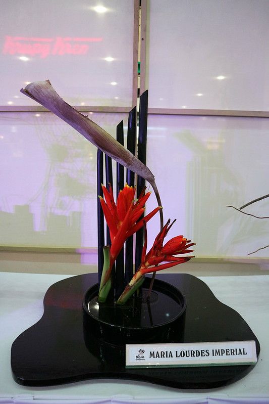 Peace and Serenity Through ikebana SM Lanang Premier Kadayawan IMG_0420