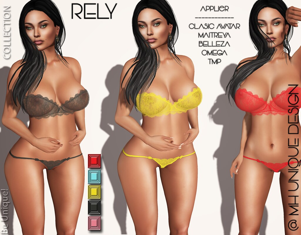 MH-Rely Lingerie Collection -Applier - SecondLifeHub.com