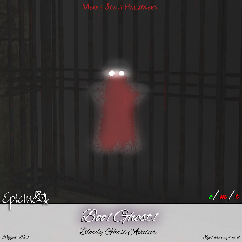 Epicine – Boo! Ghost! – Bloody Ghost Avatar