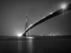 Pont de Normandie Long exposure
