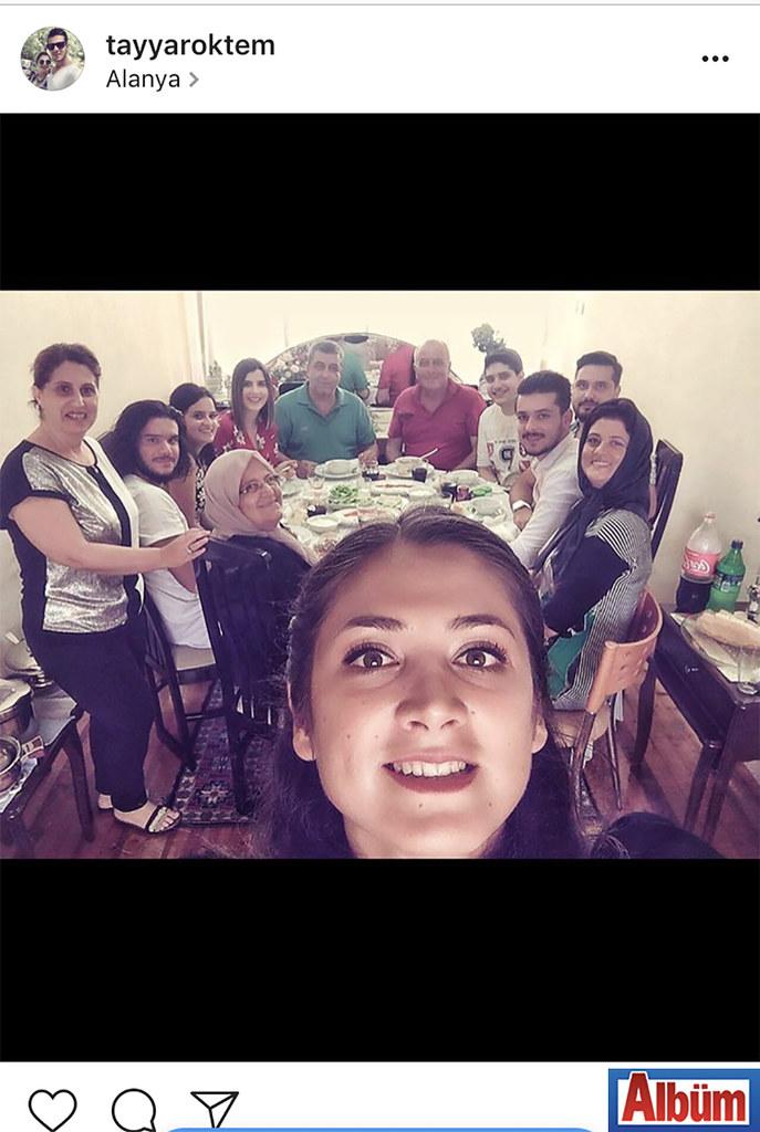 """Tayyar Öktem, bayram sofrasını """"Nurten hanımın torunları"""" açıklaması ile paylaştı."""