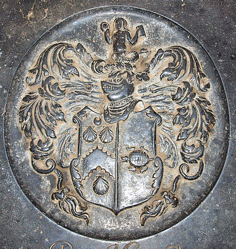 Anna Garneys nee Gaudy 1681 arms
