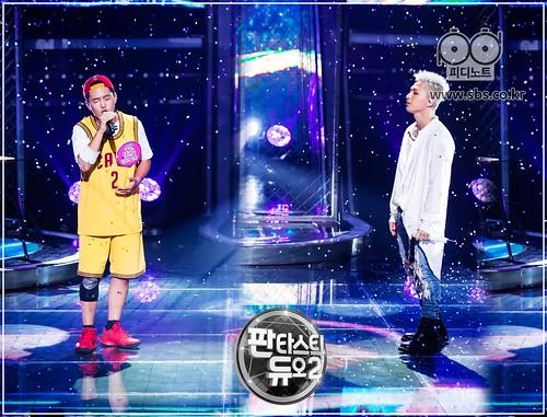 Taeyang Fantastic Duo 2 SBS August 2017 (8)