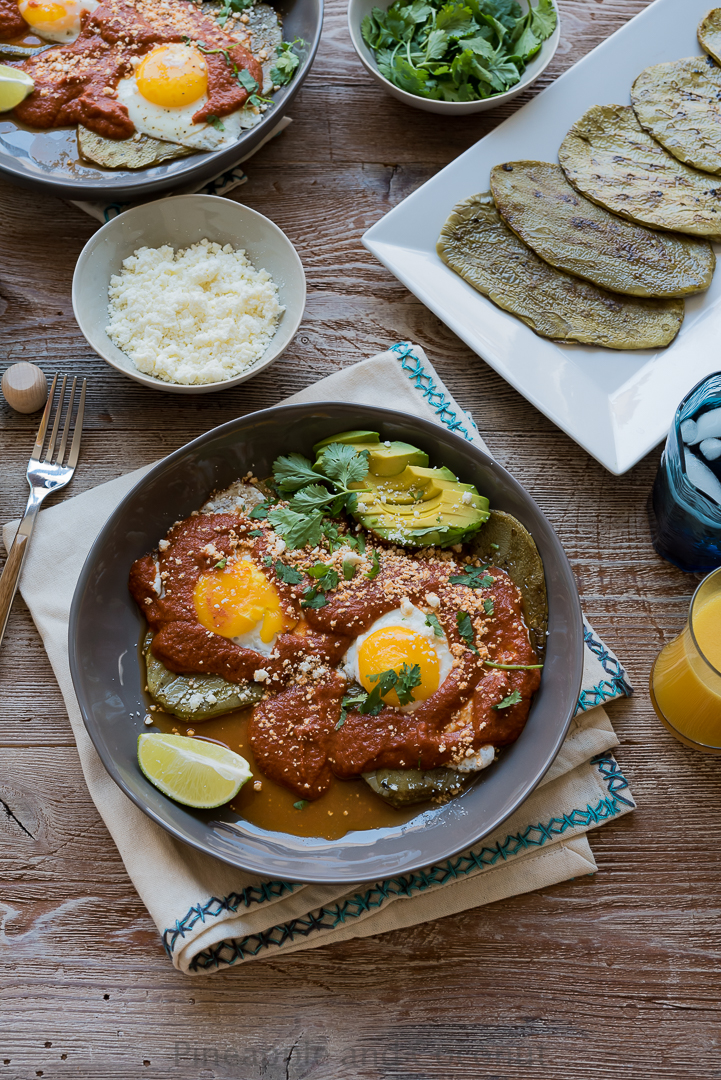 Huevos Rancheros with Grilled Nopales #ad #discoverworldmarket www.pineappleandcoconut.com