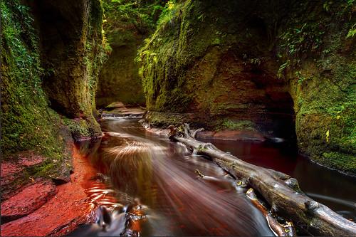 Devils Pulpit, Finnich Glen, Scotland.