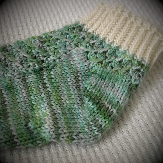 Finished Hyrule socks