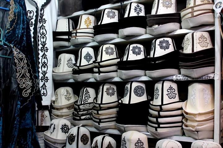 Sombreros kirguistan