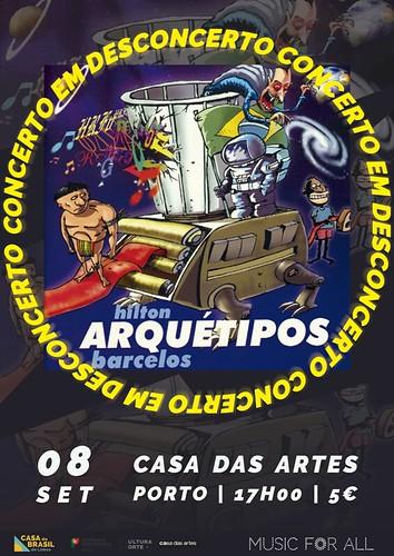 Hilton Barcelos_Cartaz Concerto em Desconcerto