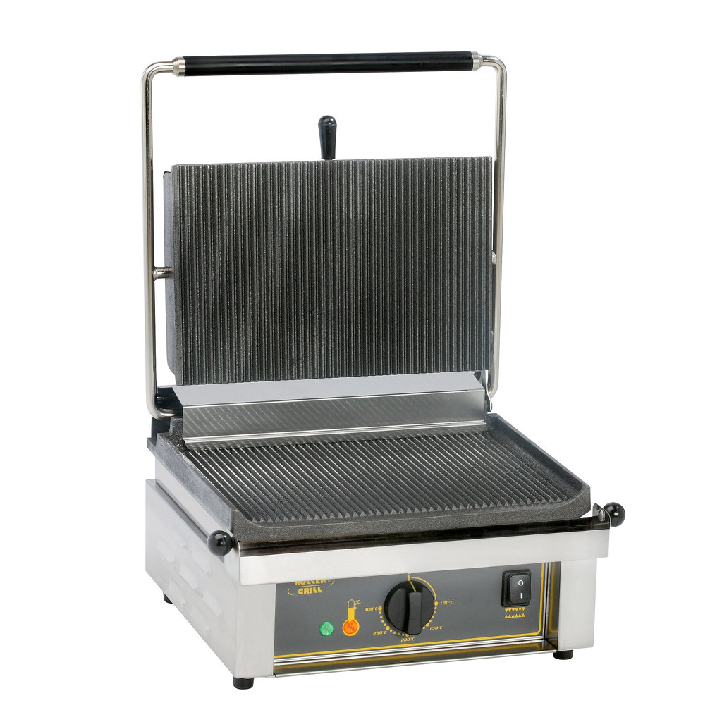 PANINI R contact grill in ghisa