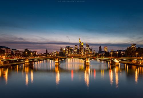 Flößerbrücke - Frankfurt