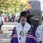 Лития по погибшим воинам в Новороссийске