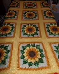 I loved those sunflowers that work the most beautiful in crochet congratulations watch step by step 💕💕
