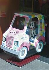 1-Seater Jazz Van Kiddie Ride At Old Town Amusements In Hastings!