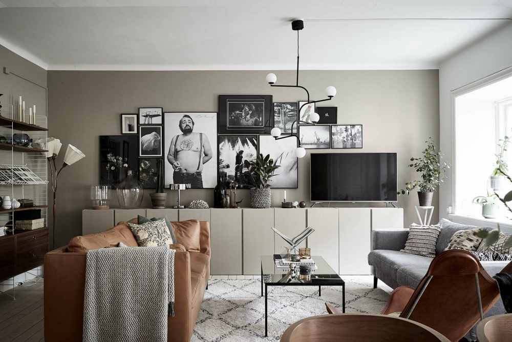 Minimal Apartment with Warm Neutral Colors