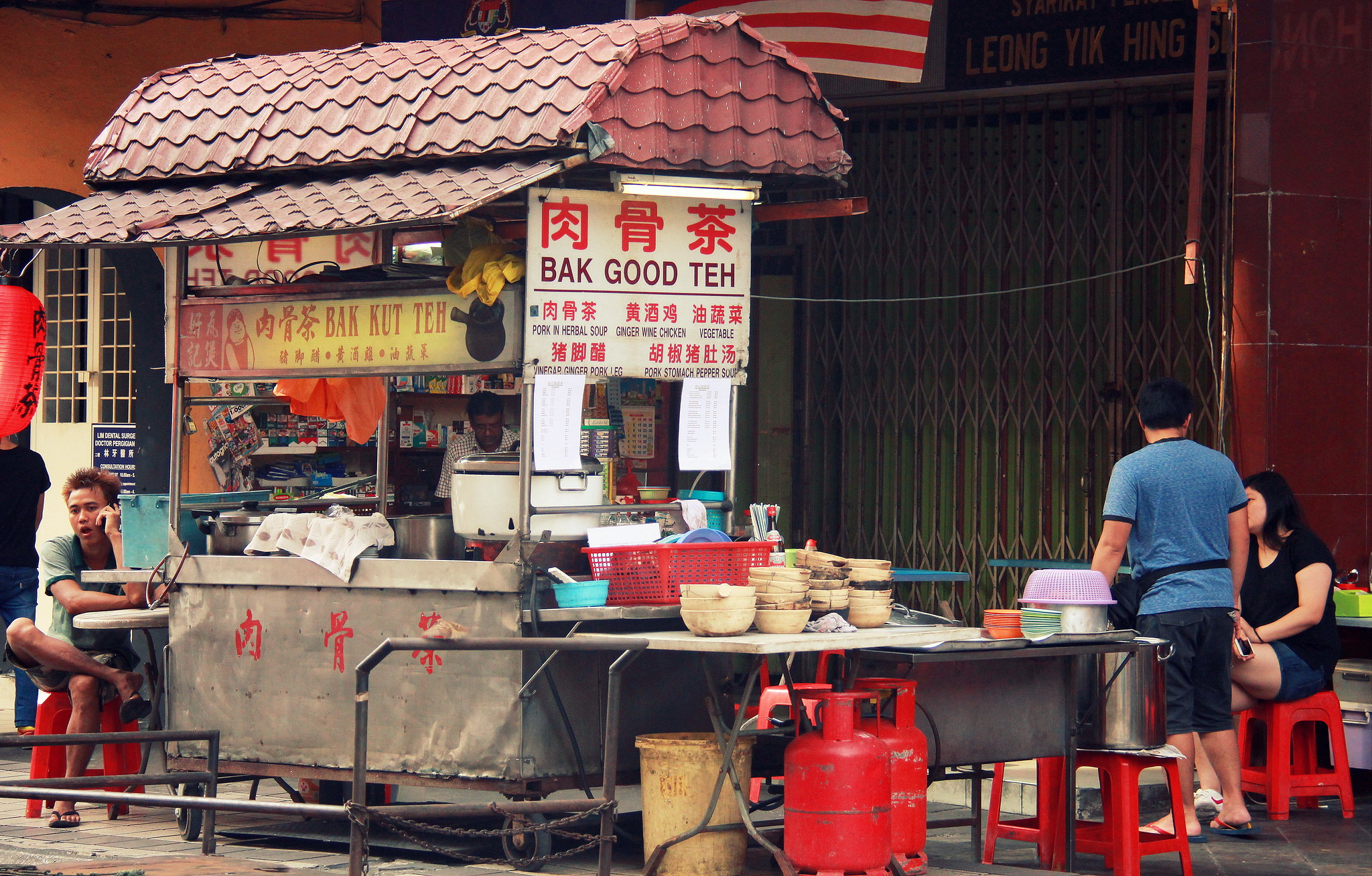 Street food is must try when you visit Kuala Lumpur