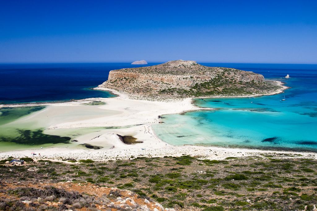 Plaża Balos Panorama - Crete, Greece